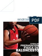 Curso Preparación Física de Baloncesto