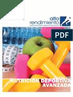 Curso de Nutrición Deportiva Avanzada