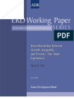 Interrelationship between Growth, Inequality, and Poverty