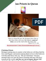 Christian Priests in Quran