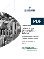 CT Unidrive SP Elevator Solution Software User Guide - Issue 3.pdf