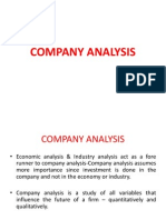 3 Company Analysis