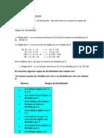Simplificación de Fracciones