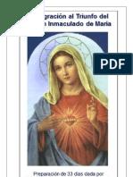 preparacion para la consagracion al corazon de María