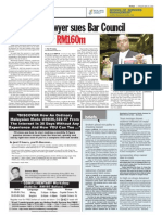 thesun 2009-05-26 page04 lawyer sues bar council for rm160m