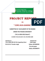 Core Java Gaming