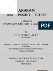 Arakan, British Early Report