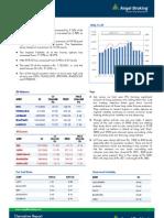 Derivatives Report, 01 August 2013