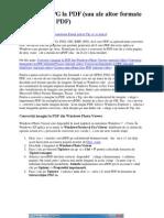 Conversie Jpg to PDF