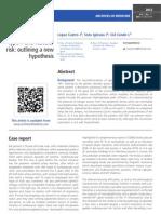 Neurophybromatosis type 1 and vascular risk
