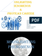Moonlighting and Protean Careers