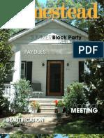 Woodland Park Improvement Association, Ferndale, Michigan - March 2013 Newsletter