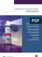 Enhancing Skills through Public-Private Partnerships in Education in Ukraine