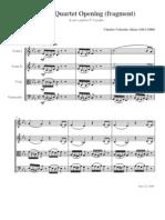 Alkan - Opening for String Quartet (unfinished)