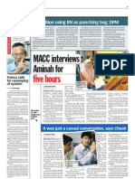 thesun 2009-05-27 page03 macc interviews aminah for five hours