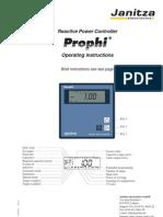 Janitza Manual Prophi e