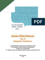 Anais Eletrônicos EPHIS - Vol. 2