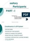 Lecture - Depository Participants v2.0