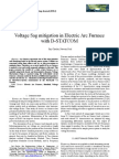 Voltage Sag Mitigation in Electric Arc Furnace With D-STATCOM