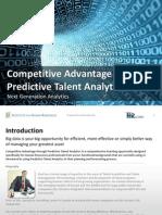 Lalovich_Competitive Advantage Through Predictive Talent Analytics FINAL