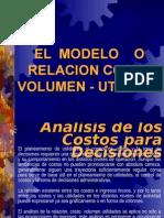 Modelo o Relacion Costo Volumen Utilidad 1