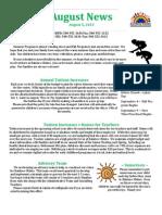 RR Summer Newsletter 2013
