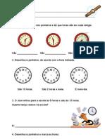 Ficha Horas