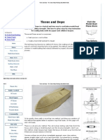 Tissue and Dope - The Classic Way of Sealing Balsa Model Boats