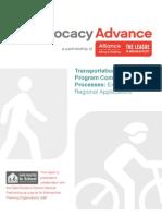 Transportation Alternatives Program Competitive Grant Processes