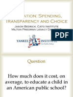 2013 Yankee Institute Friedman Day Presentation