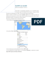 Cómo crear un GeoPDF con ArcGIS