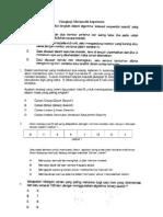 Ulangkaji Matematik Keputusan BM 2012-1