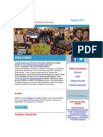 PublicSchoolOptions.org August 2013 Newsletter