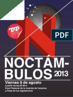Programa Noctámbulos 2013
