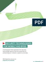 Kaspersky Security Technologies Mobile BYOD