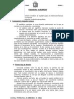 EQUILIBRIO DE FUERZAS  Nª 01 IMPRIMIR