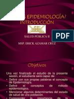 EPIDEMIOLOGIA 1