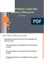 Copyright Laws for School Projects