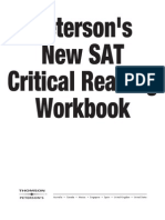 New SAT Critical Reading Workbook