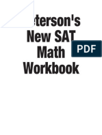 New SAT Math Workbook