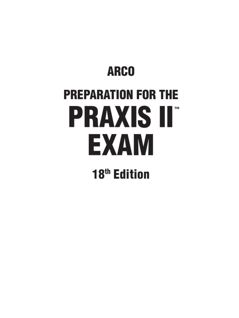 Preparation for the Praxis 2-PPST Exam | Multiple Choice | Test ...