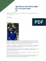 Bruno Rodrigo diz ser uma honra jogar com Dedé e vê Lúcio como referência.doc