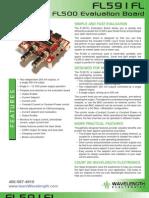 FL591FL Laser Diode Driver Brochure