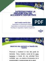 Estrategias Accidente Deportivo