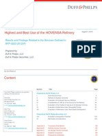 Duff and Phelps Report (HOVENSA refinery)