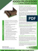PLD10000 / PLD12500 Laser Diode Driver Brochure