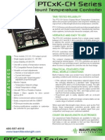 PTCxK-CH Series Temperature Controller Brochure