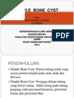 Simple Bone Cyst New