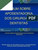 Aposentadoria CD - Forum 2012