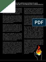 Declaracion Antorcha Democratica